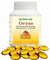 Oryza reduces cholesterol and high blood pressure  60 capsules