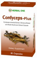 Cordyceps plus  Faster recovery from bronchitis  30 capsules