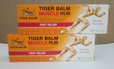 Tiger  Balsam Muscle Rub