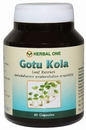 Gotu Kola (Centella asiatica) control of high blood pressure 60 capsules